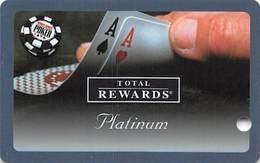 Harrah's Casino  WSOP Platinum 2005 Slot Card BLANK - Casino Cards