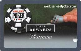 Harrah's Casino  WSOP Platinum 2006 Slot Card BLANK - Casino Cards