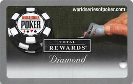 Harrah's Casino  WSOP BLANK Diamond 2006 Slot Card - 11 Casino Logos - Casino Cards