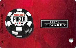 Harrah's Casino  WSOP 2011 Slot Card BLANK - Casino Cards