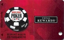 Harrah's Casino  WSOP 2011 Slot Card - Casino Cards