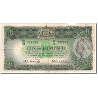 Billet, Australie, 1 Pound, KM:34a, B - Emissions Gouvernementales Pré-décimales 1913-1965