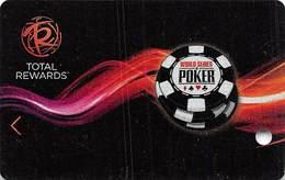 Harrah's Casino WSOP BLANK 2014 Slot Card - Casino Cards