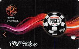 Harrah's Casino WSOP 2014 Slot Card - Casino Cards