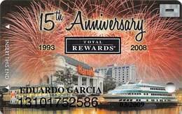 Harrah's Casino 15th Anniversary Joilet IL Diamond Level Slot Card - Casino Cards