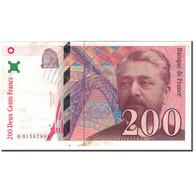 France, 200 Francs, 200 F 1995-1999 ''Eiffel'', 1996, TTB+, Fayette:75.2 - 1992-2000 Ultima Gama