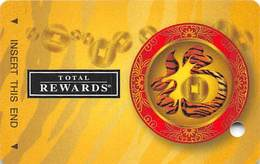 Harrah's Casino Year Of The Tiger 2010 BLANK Slot Card - Casino Cards