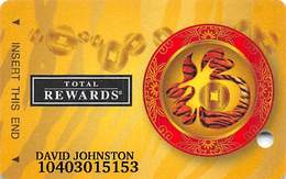 Harrah's Casino Year Of The Tiger 2010 Slot Card - Casino Cards