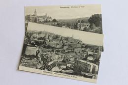 2 Postcards Luxembourg, Ville-haute Et Ville-basse Du Grund - Postcards