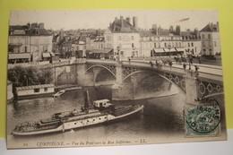 COMPIEGNE   - Vue Du Pont  -  ( GUEPE - BATEAU ) - Compiegne