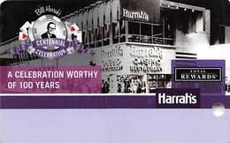 Harrah's Casino BLANK Bill Harrah's Centennial Celebration Slot Card - Casino Cards