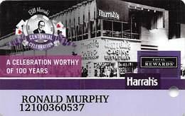 Harrah's Casino - Bill Harrah's Centennial Celebration Slot Card - Casino Cards