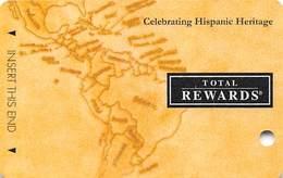 Harrah's Casino Celebrating Hispanic Heritage 2011 BLANK Slot Card - Casino Cards