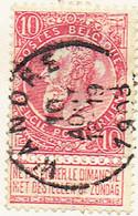 COB 58 Avec Cachet WANDRE - 1893-1907 Wappen