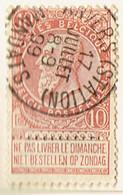 COB 53 Avec Cachet ANVERS (STATION) MANDATS - 1893-1907 Wappen