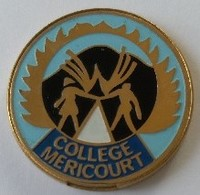 Jeton De Caddie - Collège MERICOURT (62) - En Métal - - Jetons De Caddies