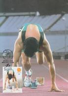 Carte  Maximum  1er   Jour   PORTUGAL   Jeux  Paralympiques  D'  ATHENES   2004 - Summer 2004: Athens - Paralympic