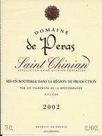 SAINT-CHINIAN DOMAINE DE PERAS 2002 (3) - Languedoc-Roussillon