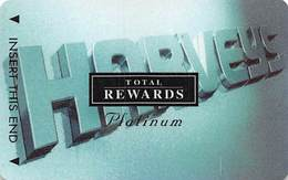 Harvey's Casino - Lake Tahoe, NV - TR Platinum @2001 Slot Card BLANK - Casino Cards