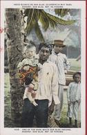 Panama Native Indians Indio Blanco Rare White San Blas Sasardi Indio Blanco Occurrencia Muy Rara - Panama