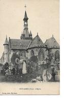 60 - FITZ JAMES - L'Eglise  (Cimetière - Petite Animation) - France