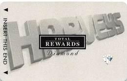 Harvey's Casino - Lake Tahoe, NV - TR Diamond @2001 Slot Card BLANK - Casino Cards