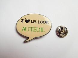 Beau Pin's , J'aime De Look Auteuil  , Signé Corner - Cities