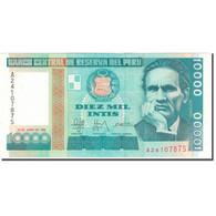 Billet, Pérou, 10,000 Intis, 1988-06-28, KM:140, NEUF - Pérou