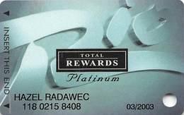 Rio Casino Las Vegas NV - TR Platinum Slot Card With No Date - Casino Cards