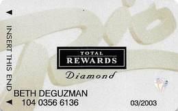 Rio Casino Las Vegas NV - TR Diamond @2001 Slot Card - Casino Cards