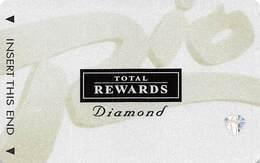 Rio Casino Las Vegas NV - TR Diamond @2001 Slot Card BLANK - Cartes De Casino