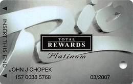 Rio Casino Las Vegas NV - TR Platinum @2004 Slot Card - Casino Cards