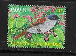 FRANCE 3551 Nature De France Oiseaux D'Outre Mer Terpsiphone De Bourbon . - France