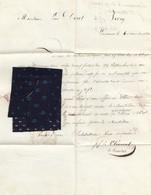 Schweiz: 1836: Lausanne Mit Stoffprobe - Switzerland