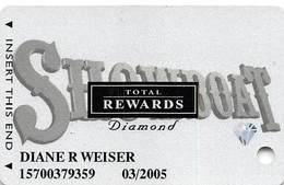 Showboat Casino - Atlantic City NJ - Total Rewards Diamond Slot Card - No Date - Casino Cards