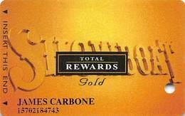 Showboat Casino - Atlantic City NJ - Total Rewards Gold @2006 Slot Card - Casino Cards