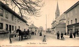 Suisse - LE SENTIER - La Place - VD Vaud