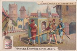 2 Chromos -- Tours - Liebig
