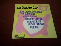 JEAN JACQUES GOLDMAN  +++++++++   LES RESTO DU COEUR - Vinyles
