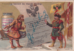 3 Chromos -- Médailles D'Or Et Grands Diplômes - Liebig