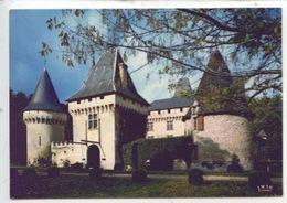 Lieu Dieu Château, édifice Des XIV Et XVè S. Châteaux En Périgord (cp Vierge N°24/301) - Francia