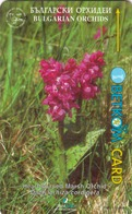 """BULGARIA - GPT- Orchids 4 Of 4 ,Heart-Shaped Marsh Orchi,10 Units,CN:51BULB, Normal Zero""""0"""", Tirage 30.000, 09/97, Used - Bulgaria"""