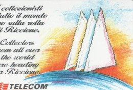 NUOVA (MINT)- 538--TELECOM ITALIA-RICCIONE 96 - Public Practical Advertising