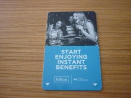 Hilton HHonors International Hotel Room Key Card - Cartes D'hotel