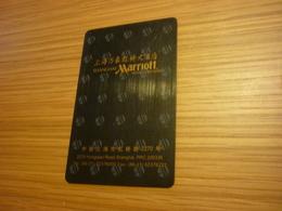 China Shanghai Hongqiao Marriott Hotel Room Key Card (version A) - Cartes D'hotel