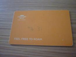 India Pune Chakan Marriott Courtyard Hotel Room Key Card - Cartes D'hotel