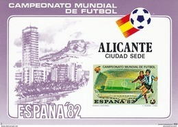 España HR - Futbol 14 Hb Sd Diferentes Juego Completo SIN DENTAR - 1982 – Espagne