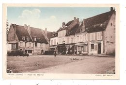 Varzy-Place Du Marché-(C.9009) - Autres Communes