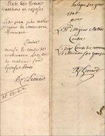 Hollogne-sur-Geer Et Corswarem - Manuscripts