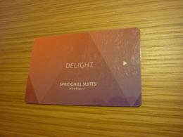 Marriott Springhill Suites International Hotel Room Key Card (Delight) - Cartes D'hotel